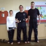 More kickboxing students