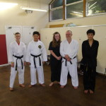 Successful Students at Karate Black Belt Gradings. Well done to all.